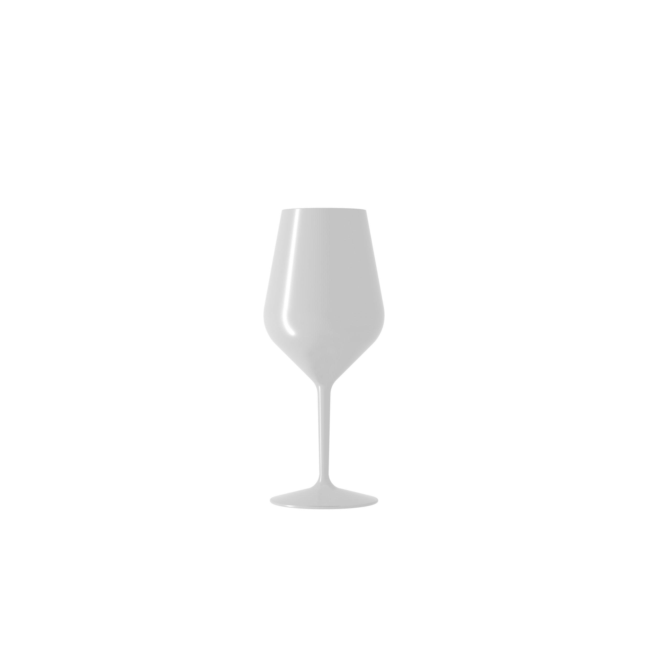 Italesse Air Beach Collection veiniklaas valge