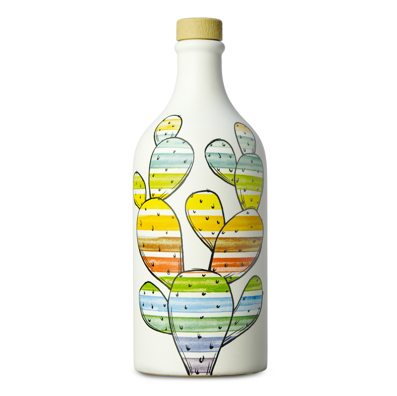 Frantoio Muraglia Keraamiline pudel Kaktus 500ml
